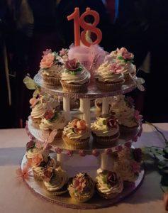 Torta cup cake: foto