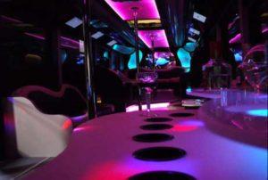vip limo bus