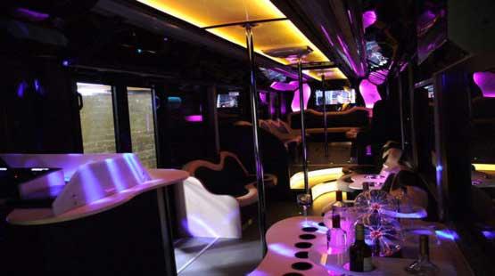 Vip limo bus 35 posti
