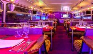 ristobus Roma con cena e discoteca