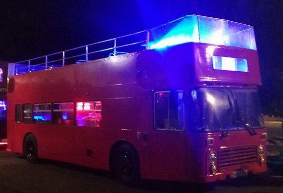 feste divertenti open bus: foto