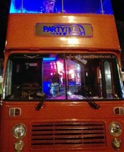 party bus aperto a roma: foto