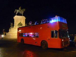 party bus open roma: foto