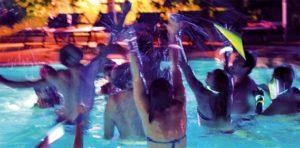Party in villa Roma: foto