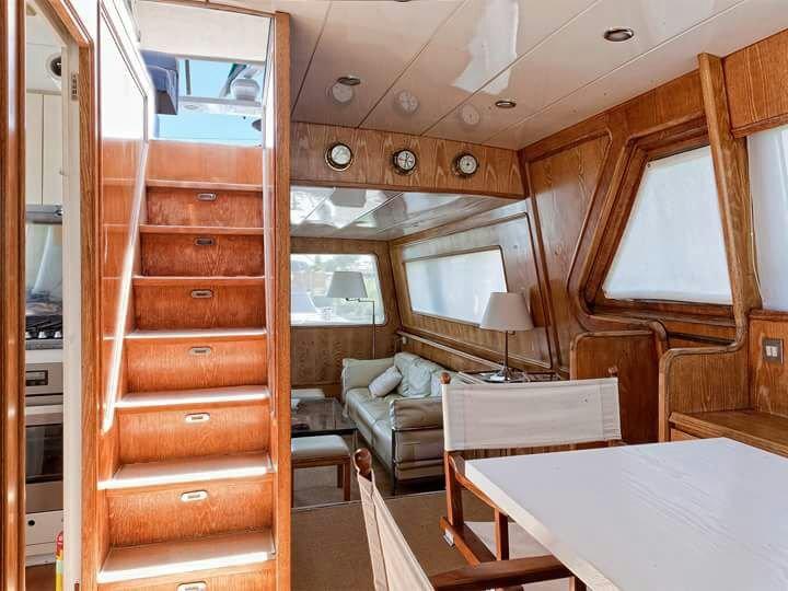 party su uno yacht roma: foto