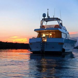 festa su uno yacht a roma: foto