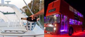 cena per due bus inglese:: foto